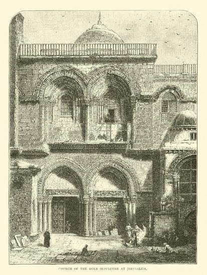Church of the Holy Sepulchre at Jerusalem--Giclee Print