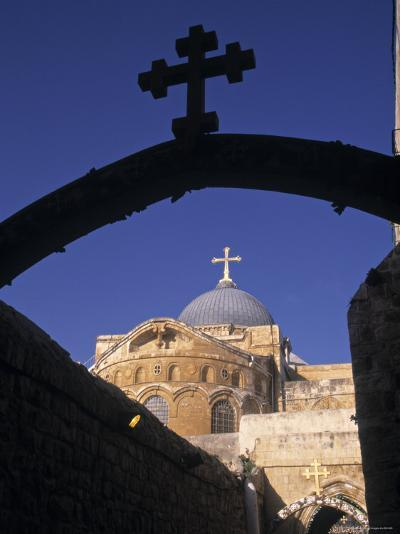 Church of the Holy Sepulchre, Jerusalem, Israel-Jon Arnold-Photographic Print