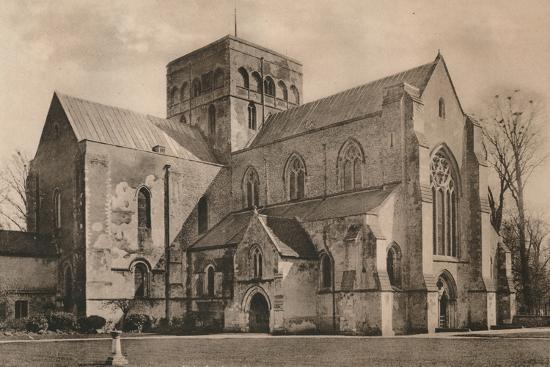 Church of the Hospital of St Cross, Winchester, Hampshire, early 20th century(?)-Unknown-Photographic Print