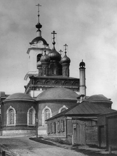 Church of the Icon of Our Lady of Kazan, Sushchevo, Moscow, Russia, 1882- Scherer Nabholz & Co-Photographic Print