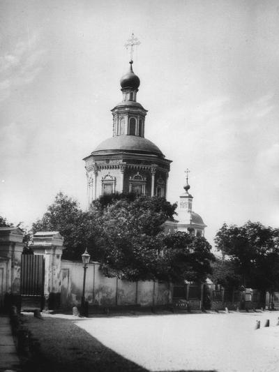 Church of the Life-Giving Trinity, Khokhlovka, Moscow, Russia, 1881- Scherer Nabholz & Co-Photographic Print