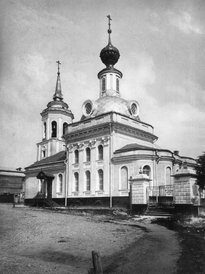 Church of the Life-Giving Trinity, Syromyatniki, Moscow, Russia, 1881- Scherer Nabholz & Co-Photographic Print