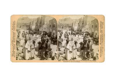 Church of the Nativity, Built Where Jesus Was Born, Bethlehem, Palestine, 1900-Underwood & Underwood-Giclee Print
