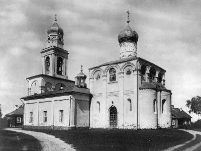 Church of the Nativity of the Most Holy Theotokos on Simonovo, Moscow, Russia, 1882- Scherer Nabholz & Co-Photographic Print