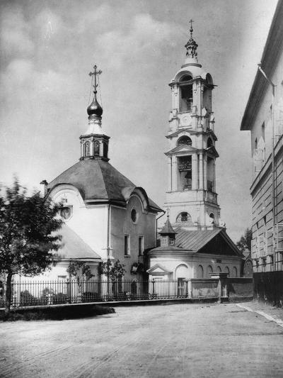 Church of the Protection of Our Most Holy Lady Theotokos, Kudrino, Moscow, Russia, 1882- Scherer Nabholz & Co-Photographic Print