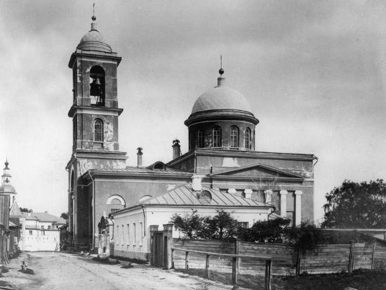 Church of the Resurrection of Christ at the Monastery of St Daniel, Moscow, Russia, 1881- Scherer Nabholz & Co-Photographic Print