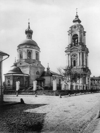 Church of the Resurrection of Christ, Monetchiki, Moscow, Russia, 1881- Scherer Nabholz & Co-Photographic Print