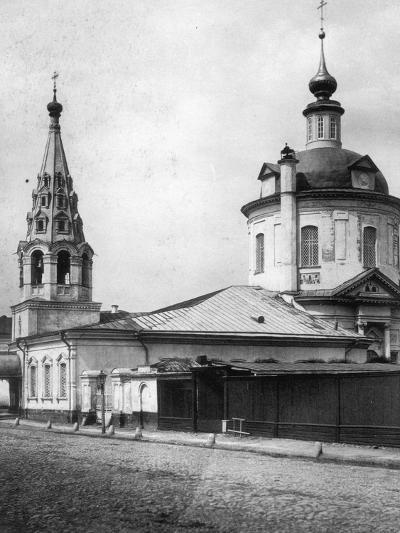 Church of the Resurrection of Christ, Taganka, Moscow, Russia, 1881- Scherer Nabholz & Co-Photographic Print