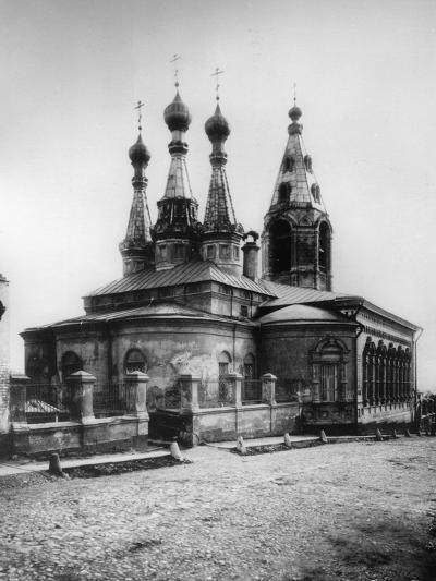 Church of the Resurrection of Jesus, Gonchary, Moscow, Russia, 1881- Scherer Nabholz & Co-Photographic Print