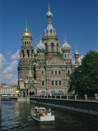 Church of the Resurrection (Or Spilt Blood), St. Petersburg, Russia-Gavin Hellier-Photographic Print