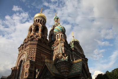 Church of the Saviour on Blood, St Petersburg, Russia, 2011-Sheldon Marshall-Photographic Print
