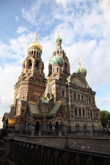 Church of the Saviour on Blood, St Petersburg, Russia, 2011-Sheldon Marshall-Photographic Print