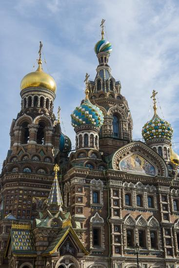 Church of the Saviour on Spilled Blood, UNESCO World Heritage Site, St. Petersburg, Russia, Europe-Michael Runkel-Photographic Print
