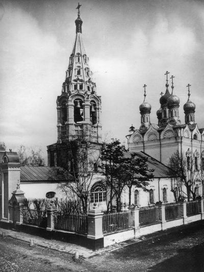 Church of the Transfiguration of Jesus, Peski, Moscow, Russia, 1881- Scherer Nabholz & Co-Photographic Print