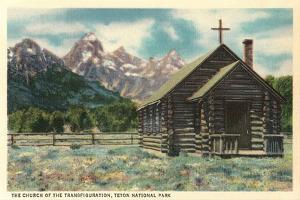 Church of the Transfiguration, Teton National Park