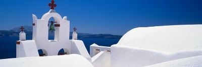 Church, Oia, Santorini, Cyclades Islands, Greece--Photographic Print