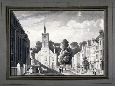 Church Row, Hampstead, London, C1830-L Garne-Giclee Print
