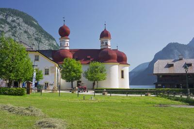 Church Saint Bartholom?, King's Lake, National Park Berchtesgaden-Rainer Mirau-Photographic Print