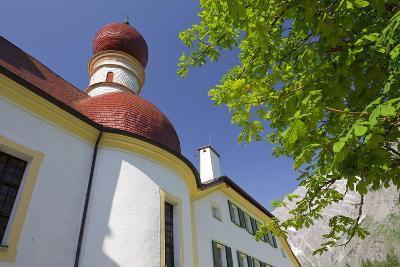 Church Saint BartholomŠ, King's Lake, Berchtesgadener Land District-Rainer Mirau-Photographic Print