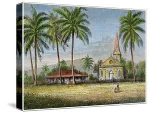 Church, Samoa, C1875