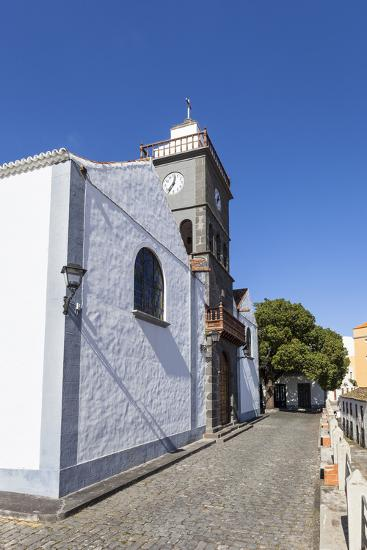Church San Pedro Apostol, San Pedro, Brena Alta, La Palma, Canary Islands, Spain, Europe-Gerhard Wild-Photographic Print