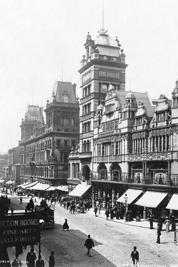 Church Street, Liverpool--Photographic Print