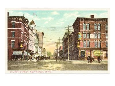 Church Street, New Haven, Connecticut--Art Print