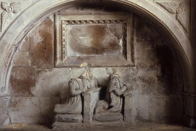 Church Tomb-Den Reader-Photographic Print