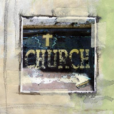 Church-Linda Woods-Art Print