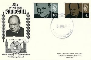 Churchill First Day Cover