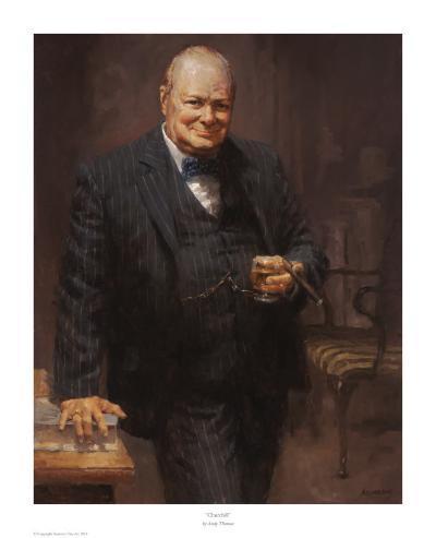 Churchill-Andy Thomas-Art Print