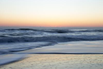 Churning Waves Crash onto the Shores of Pea Island-Robbie George-Photographic Print