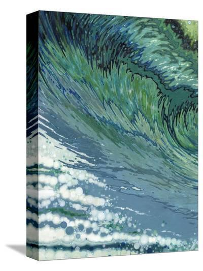 Churning-Margaret Juul-Stretched Canvas Print