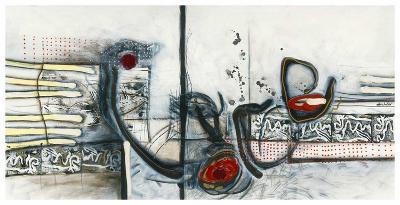 Ci-dessus-Sylvie Cloutier-Art Print
