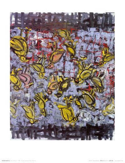 Ciao America II, c.1988-Georg Baselitz-Art Print