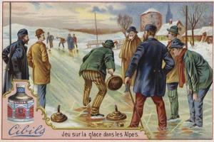 Cibils Card Featuring Curling