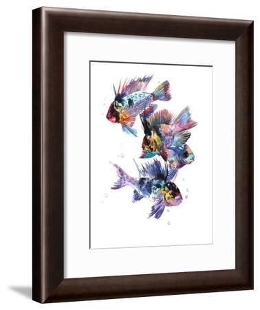 Cichlid Ram-Suren Nersisyan-Framed Art Print