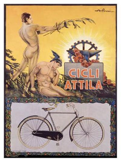 Cicli Attila-Pomi-Giclee Print