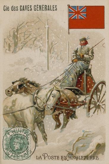 Cie Des Caves Generales Trade Card, Postal--Giclee Print