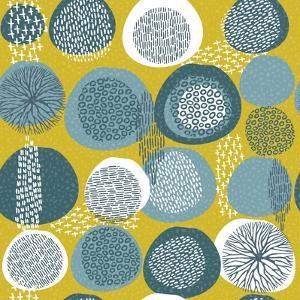 Abstract Boho Pattern with Tribal Shape Elements by cienpies