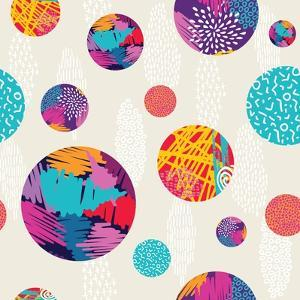 Abstract Ethnic Pattern by cienpies