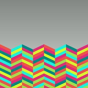 Colorful Abstract Retro Pattern by cienpies