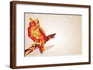 Colorful Owl Illustration by cienpies