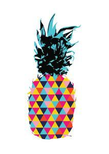 Colorful Summer Pineapple by cienpies