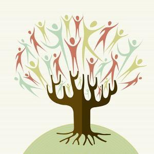 Embrace Diversity Tree by cienpies