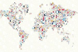 Gadgets - World Map by cienpies