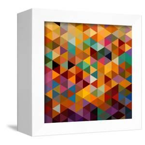Geometric Triangle Pattern by cienpies