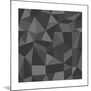 Gray Abstract Geometric Pattern by cienpies