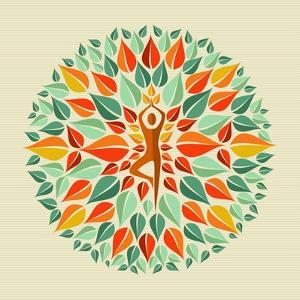 India - Yoga Mandala by cienpies