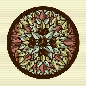 Leaves - Yoga Mandala by cienpies